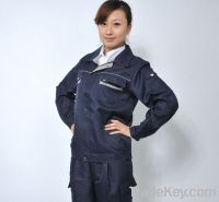 Sell Big Discount & Good Quality Industrial Work Uniform for Worker