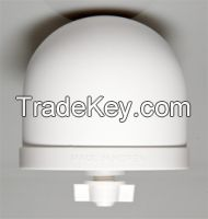 Ceramic dome-type filter