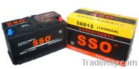 Sell 58815MF 12v 88ah starting battery for automobile