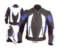Motorbike Jacket Leather C M 103