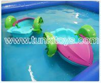 Sell hand power children kids paddler peddler water boat