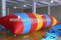 Sell water blob trampoline aqua pillow inflatable climbing water park