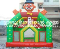 Sell inflatable bouncy castle comb obstacle rack track