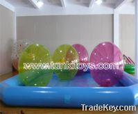 Sell tpu pvc human hamster ball water ball