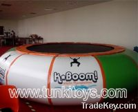 Sell trampolin inflatable seasaw infatable icebery climbing water park