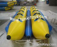 hot sale water banana boat long rowing boat