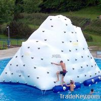 water products inflatable water iceberg game