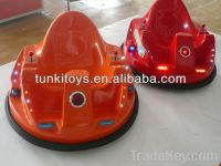 rotate battery electric driving bumper car