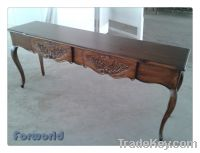 Sell  Console Table With Distressing