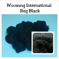 Regenerated Solid Black Fiber