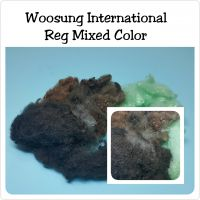 Regenerated Mixed Color Fiber
