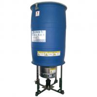 Impeller aerator with plastic impeller