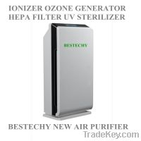 Sell Multifunction Hepa air purifier with LCD touch screen IONIZER OZO