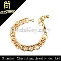 Supply gold chain bracelet