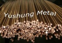 Sell Silicon bronze rods in C65100, C65500