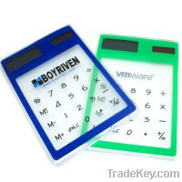 Factory Price Sell Solar Power Touch Screen Calculator