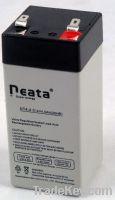 Sell LED Emergency Light Lead Acid Battery 4V-4ah (ISO, CE, UL, RoHS)