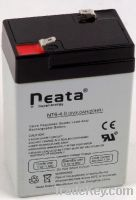 Sell LED Emergency Light Lead Acid Battery 6V-4ah (ISO, CE, UL, RoHS)