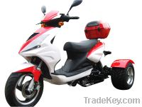 Sell 50cc Differential Gear Equipped Trike Gas Motor Scooters