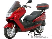 Sell 300cc Gas Motor Moped Touring Scooters Deluxe Moped