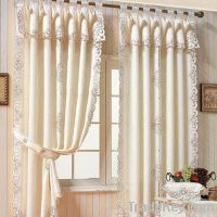 jacquard beautiful curtain
