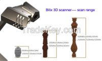 high precision 3D scanners, mechanical parts scanning machine