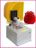 Dental SLA 3D rapid printer, jewelry 3D printer 125 x 125 x 180 mm