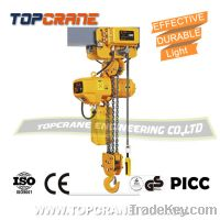 Sell  Electric chain hoist 1-10 ton with high quality