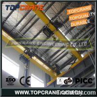 Sell European type double girder overhead crane with electric hoist