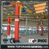 Sell Column mounted jib crane with chain hoist