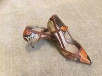 Python Genuine Leather shoes luxury