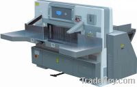 Sell Digital Display Double Hydraulic Double Guide Paper Cutter