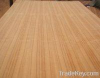 Sell Natural Teak Veneer Decorative Plywood