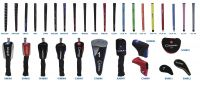 Sell golf grip&headcover
