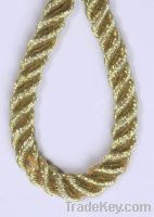 Sell twisted golden rope