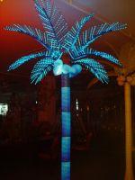 Lighted LED palm tree coconut tree lighting garden lights outdoor