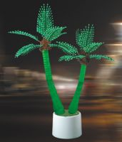 Sell LED potted palm tree light potted coconut tree lighting