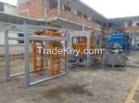 Automatic hydraulic concrete hollow block making machine/paver block making machine  in Africa