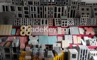 CE Certification Hydraform Vibration Concrete Block Machine Price on Sale