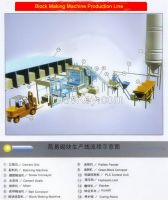 Fully Automatic and Basic Automatic Concrete Block Machine Block Making Line