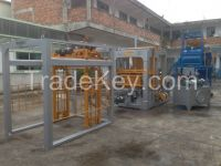 HOT SALE ! interlocking block machine QY6-24 Fully-Automatic Cement Block Making Machine( all kinds of bricks can be produced)
