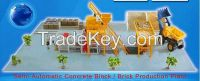 TOP Quality fully automatic concrete block making machine with Lower price concrete block machine (QY6-24)