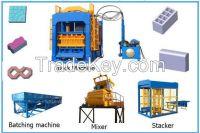 China top quality block machine:QY12-60 Automatic block making machine plant