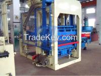 Good performance higher capacity output  QT4-15 brick maker block making machine