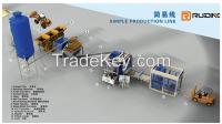 QT12-15 auto Brick Production Line Processing and Hydraulic Pressure Method Block Making Machine