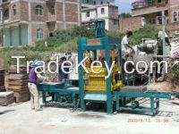Fully Automatic Cement Block Making Machine QT6-15 for making hollow blocks