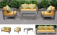 Sell Outdoor Furniture-Aluminum Sofa set