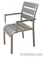 Sell Aluminum Arm Dining Chair for outdoor use