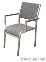 Sell PE Rattan Dining Chair for indoor and outdoor use