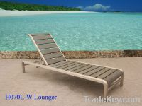 Sell Polywood sun lounger for outdoor use